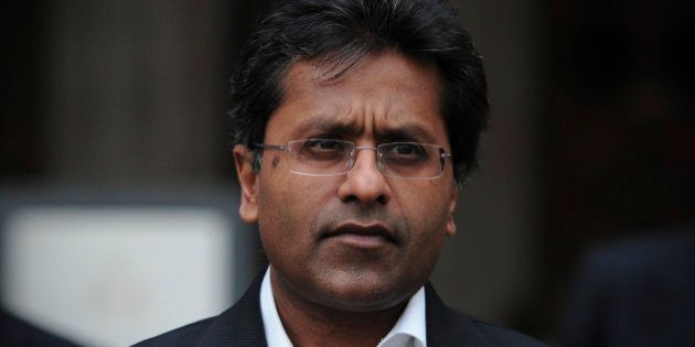 Ex-chairman of India's cricket IPL, Lalit Modi, leaves the High Court in central London on March 5, 2012,...