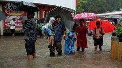 Mumbai Comes To A Halt After Heavy Rain; Trains Hit, Schools