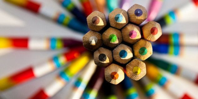 Patterned Pencils taken specially for a local Camera Club competition, where the subject was