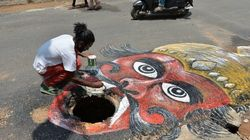 9 Incredible Works Of Art By The Bangalore Crocodile