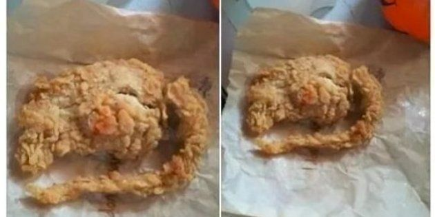 KFC Runs DNA Test On 'Fried Rat', Finds Out It Was Actually A Piece Of Oddly-Shaped