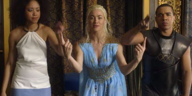 WATCH: Game Of Thrones' Daenerys Targaryen Kicks Maleficent's Ass In This Rap