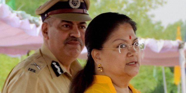 Rajasthan CM Vasundhara Raje Leaves Delhi Without Meeting BJP Top
