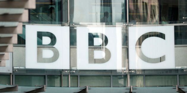 File photo dated 16/7/13 of the sign outside BBC Broadcasting House, London, as a report said that the...