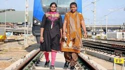28-Year-Old Woman Driver Steers Chennai's First Metro