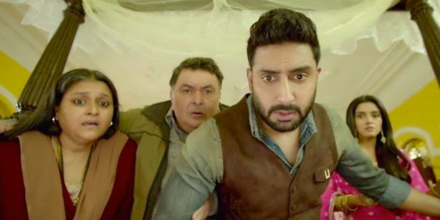 Video: Watch The First Official Trailer For Abhishek Bachchan-Rishi Kapoor Starrer 'All Is