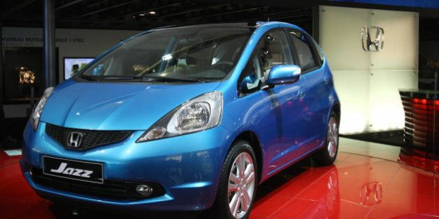 The Honda Jazz is presented on October 3, 2008 at the 2008 Motor show. The Paris motor show opened on...