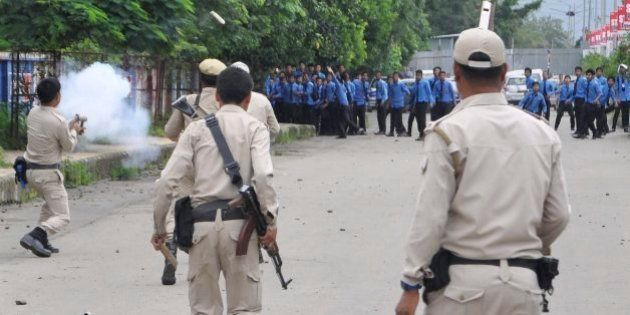 Class 9 Student Dies As Protesters Clash With Police In