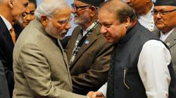 Much Anticipated Meeting Between Narendra Modi And Nawaz Sharif In Uja