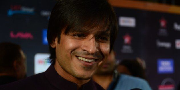 Presenter of IIFA Rocks and Nominee for Best performance in a Negative Role Bollywood actor Vivek Oberoi...