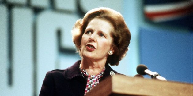 Embargoed to 0001 Monday March 3 File photo dated 12/10/1984 of Prime Minister Margaret