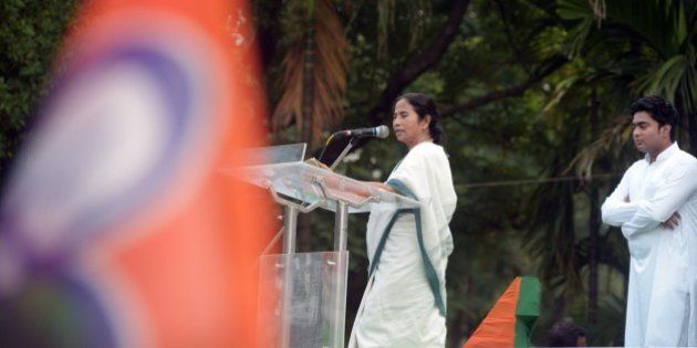Chief minster of the eastern state of West Bengal and supremo of the Trinamool Congress, Mamata Banerjee...
