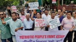 Hundreds March In Protest Against ULFA Militants In