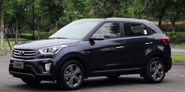 Hyundai Launches Compact SUV 'Creta' For Rs 8.59