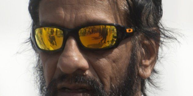 Nobel Peace Prize 2007, India's Rajendra Pachauri, head of the UN panel of climate scientists walks at...