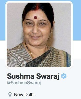 Why Has Sushma Swaraj Removed 'Foreign Minister' From Her Twitter