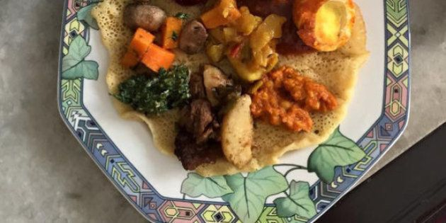 India Meets Injera: An Ethiopian Experience In