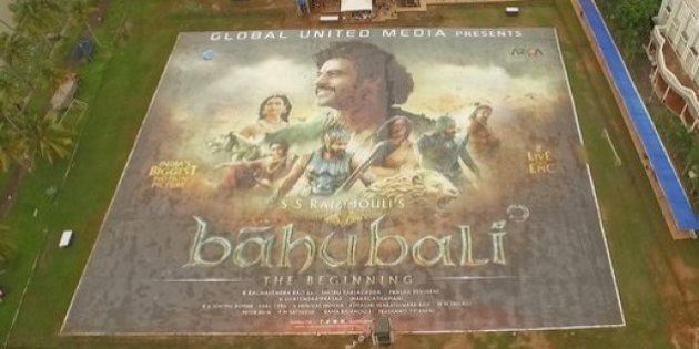 Watch: The Making Of The 'Baahubali' Poster -- The World's