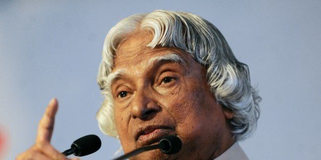 Former Indian president Abdul Kalam addresses the 'Energy Challenges in the Knowledge Based Economy'...