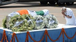 Mortal Remains Of Kalam Flown To