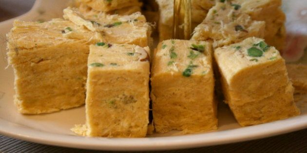 Soan papdi, a sugary treat from