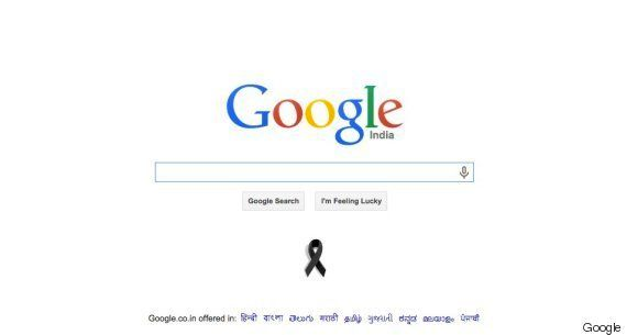 Google Pays Special Tribute To APJ Abdul Kalam By Putting Black Ribbon On