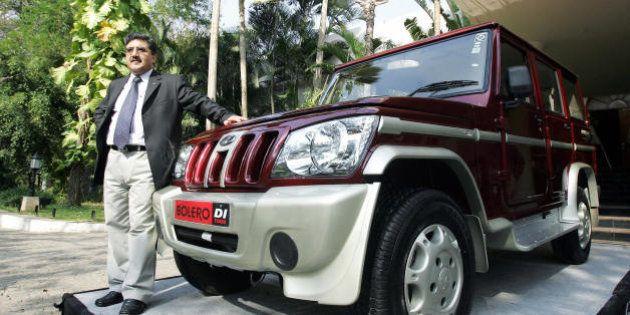 Bangalore, INDIA: General Manager Sales (Automotive Sector) of Mahindra and Mahindra, Bhartendu Kapoor...