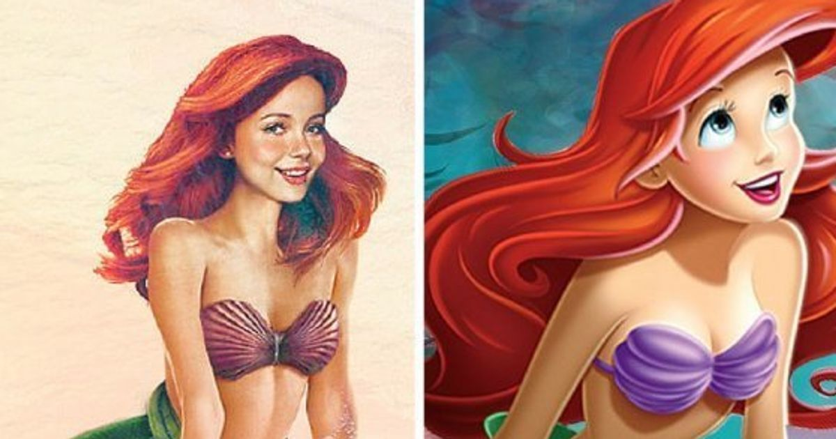 Photos If Disney Characters Were Real People This Is How They D
