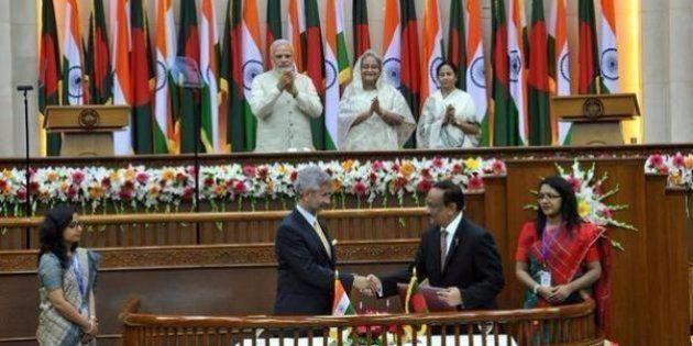 India And Bangladesh Exchange 162 Enclaves At