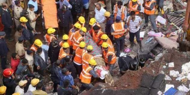 Building Collapse In Thane Wipes Out Two