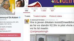 Who Owns APJ Abdul Kalam's Twitter