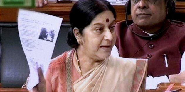Sushma Swaraj Addresses Lok Sabha On Lalit Modi Scandal: I Did Not Do Anything
