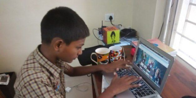 How A 13-Year-Old Helped To Innovate Learning In His Classroom And