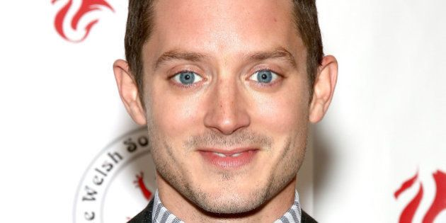 NEW YORK, NY - JUNE 10: Actor Elijah Wood attends 'Set Fire To The Stars' New York Premiere at Crosby...
