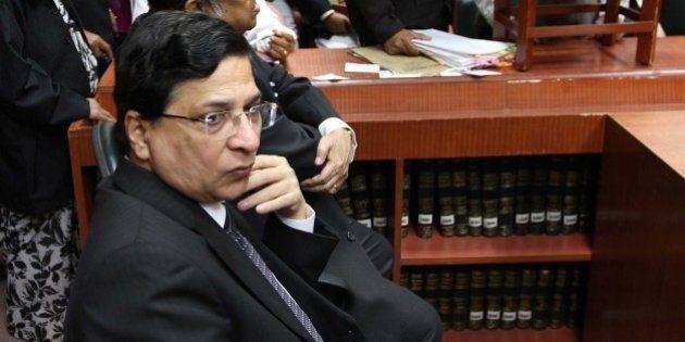 NEW DELHI, INDIA - OCTOBER 24: MEGA Lok Adalat inaugurated by Justice Altamas Kabir, executive chairman...