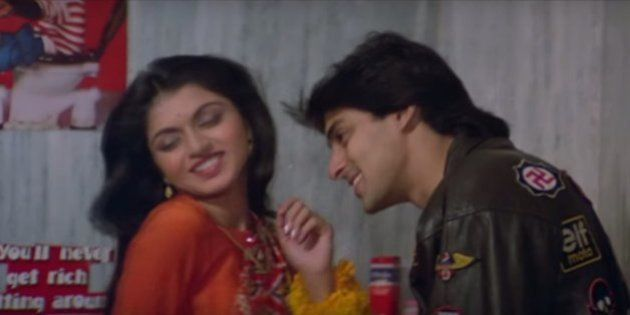 A Vine Of Only The English Bits From That 'Maine Pyar Kiya'