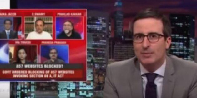 Via Porn Ban, John Oliver Has Discovered The Greatness Of Subramanian