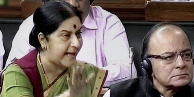 Sushma Swaraj: My Daughter Has Not Taken One Rupee From Lalit Modi In Passport