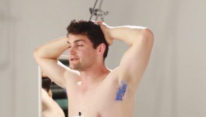 This Video Of Men Dyeing Their Armpits Is Exactly What You Think It
