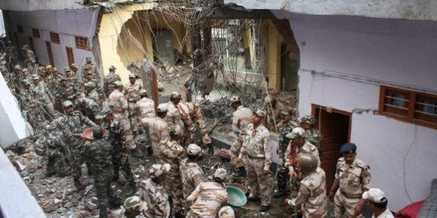 8 Killed As Major Landslide Hits Manikaran Sahib Gurdwara In Himachal