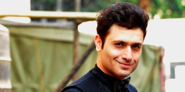 MUMBAI, INDIA NOVEMBER 28: Shiney Ahuja at the shoot of their upcoming movie Welcome Back in Mumbai.(Photo by Milind Shelte/India Today Group/Getty Images)