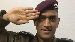 WATCH: Lieutenant Colonel MS Dhoni Completes His First Parachute Jump From A Height Of 1250