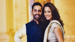 PHOTOS: Cricketer Dinesh Karthik And Squash Player Dipika Pallikal Make The Cutest
