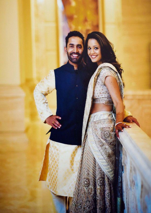 PHOTOS: Cricketer Dinesh Karthik And Squash Player Dipika Pallikal Make The Cutest