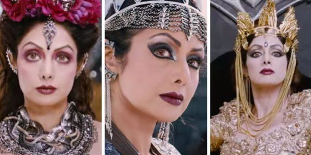 Sridevi Is The Queen Of Darkness In Puli's Official