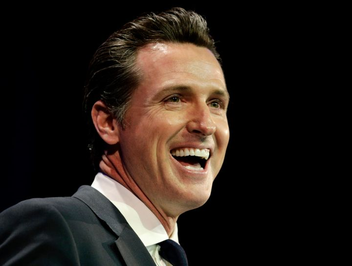 California Gov. Gavin Newsom (D) is pushing for policies to expand health care access in his state.
