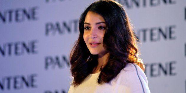 Indian Bollywood actress Anushka Sharma appears as brand ambassador for Pantene's Bianca Hartkopf range...