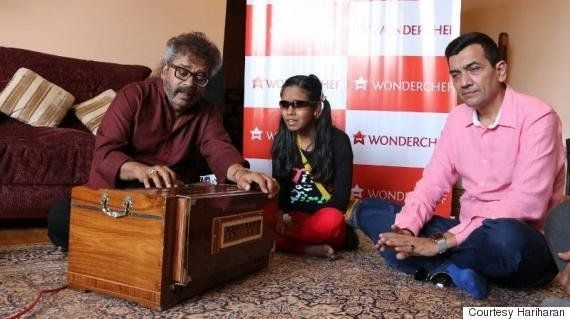 How Blind Singing Sensation Tumpa Kumari Is Being Groomed By Veteran Singer Hariharan And