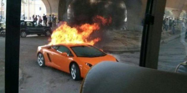What Happens When A Lamborghini Gallardo Worth More Than Rs 2.5 Crore Catches Fire In South-East