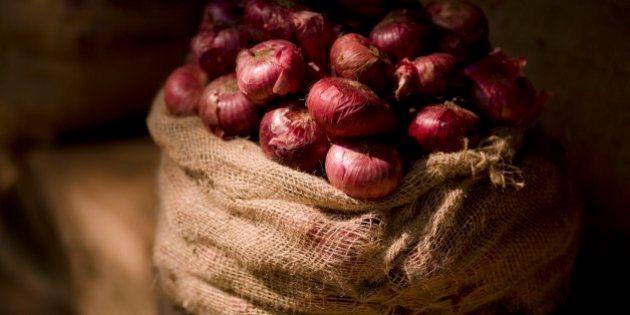 Sack of onions, Kerala,